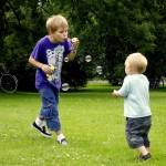 Barn som leker. Fotograf: Thomas Sörensen
